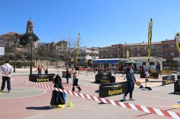 La Fundación Spiribol visita el Parque Ferial