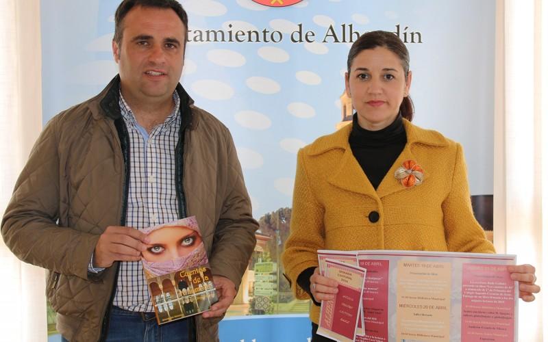 Dos escritores locales en la Semana Cultural de Alhendín