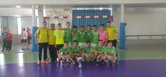 El CD Futsalhendín conquista los títulos de campeón cadete y subcampeón benjamín de Andalucía