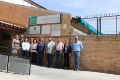 """El alcalde visita el Colegio con el delegado de Educación y le insiste en la """"necesidad imperativa"""" de construir un nuevo centro educativo"""