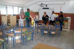 El Ayuntamiento invierte 12.000 euros en la puesta a punto del Colegio