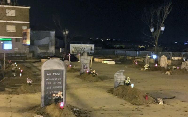 Halloween convertirá la Plaza de España en un cementerio fantasmal