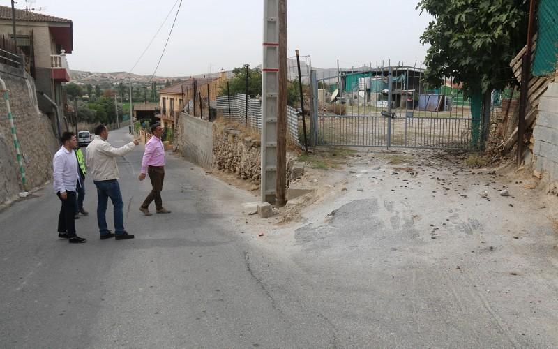 Un vial comunicará el Camino de La Malahá con el Barrio Bajo