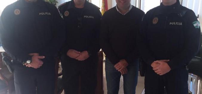 Alhendín suma dos nuevos policías locales a su plantilla
