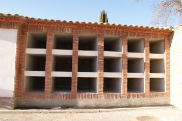 El cementerio de Alhendín culmina la construcción de sus nuevos nichos