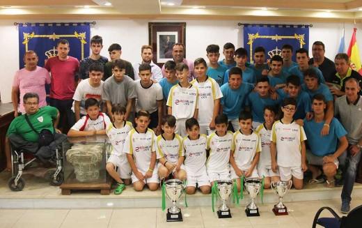 El Ayuntamiento pone en valor los éxitos deportivos de sus Escuelas Municipales en la temporada 2016-2017