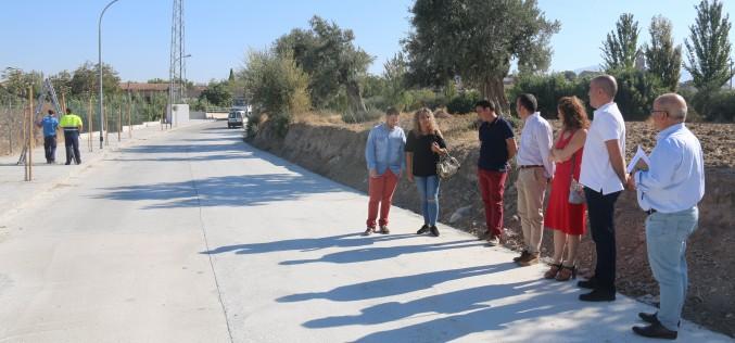 Finalizan las obras de adecuación del Camino de La Malahá en su primera fase