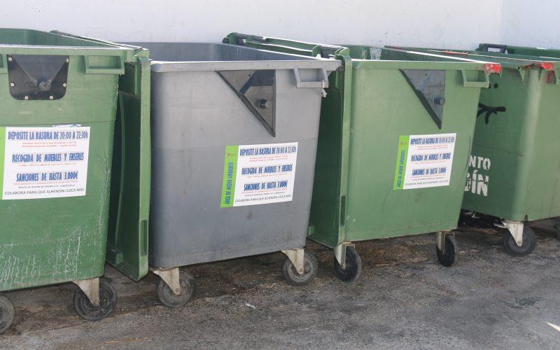 Se refuerza el servicio de recogida de basura con una ruta especial los sábados