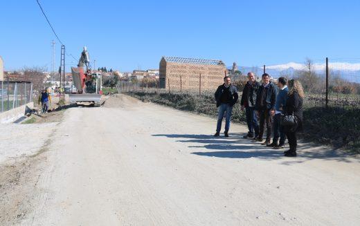 Comienzan las obras de acondicionamiento del Camino de La Malahá en su segunda fase