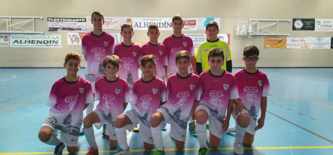 Buffalo Wild Futsalhendín se proclama campeón de la Segunda Andaluza Alevín de Granada