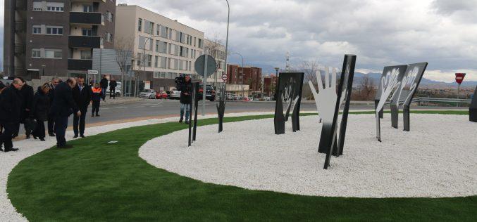 Alhendín dedica una glorieta a Miguel Ángel Blanco y a todas las víctimas del terrorismo