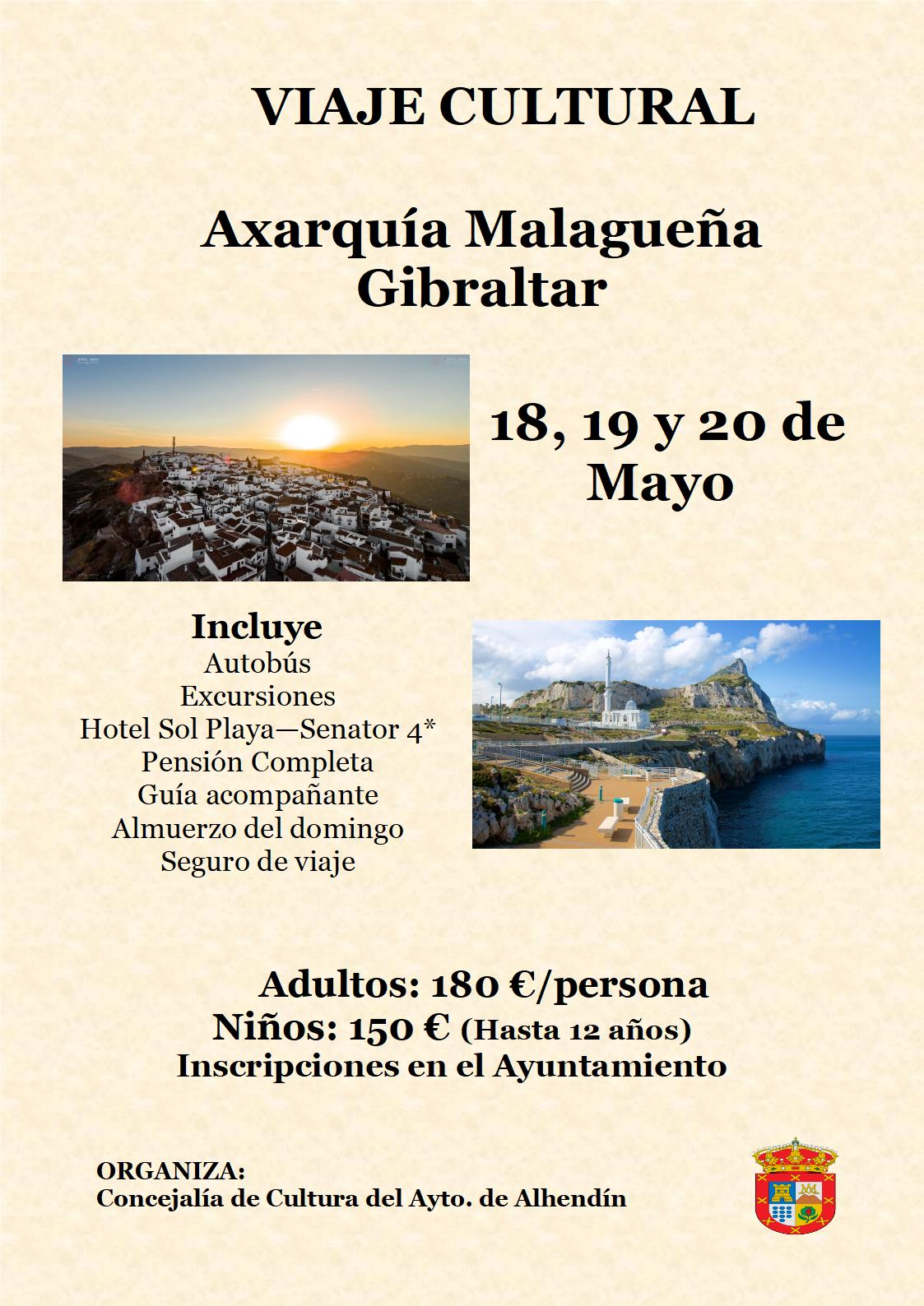 Cartel-Ruta-cultural-Axarquia-Malagueña-y-Gibraltar