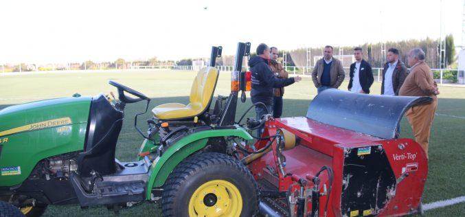 El Ayuntamiento pone a punto las instalaciones deportivas municipales