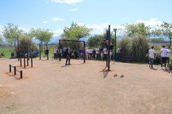 Inaugurado un parque de Calistenia en Novosur