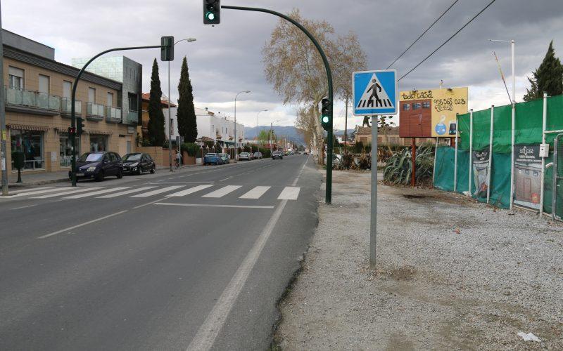 Alhendín adquiere la titularidad de un tramo de la N-323 tras la cesión del Ministerio de Fomento