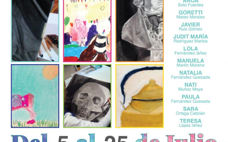 Exposición pintura alumnos