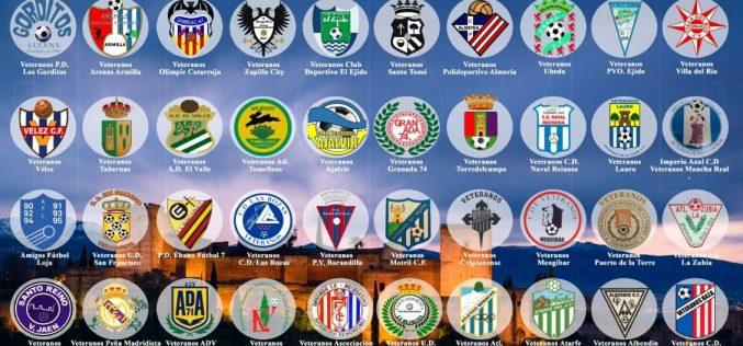 Un millar de futbolistas se dan cita este fin de semana en el II Torneo Nacional Veteranos 'Ciudad de la Alhambra'