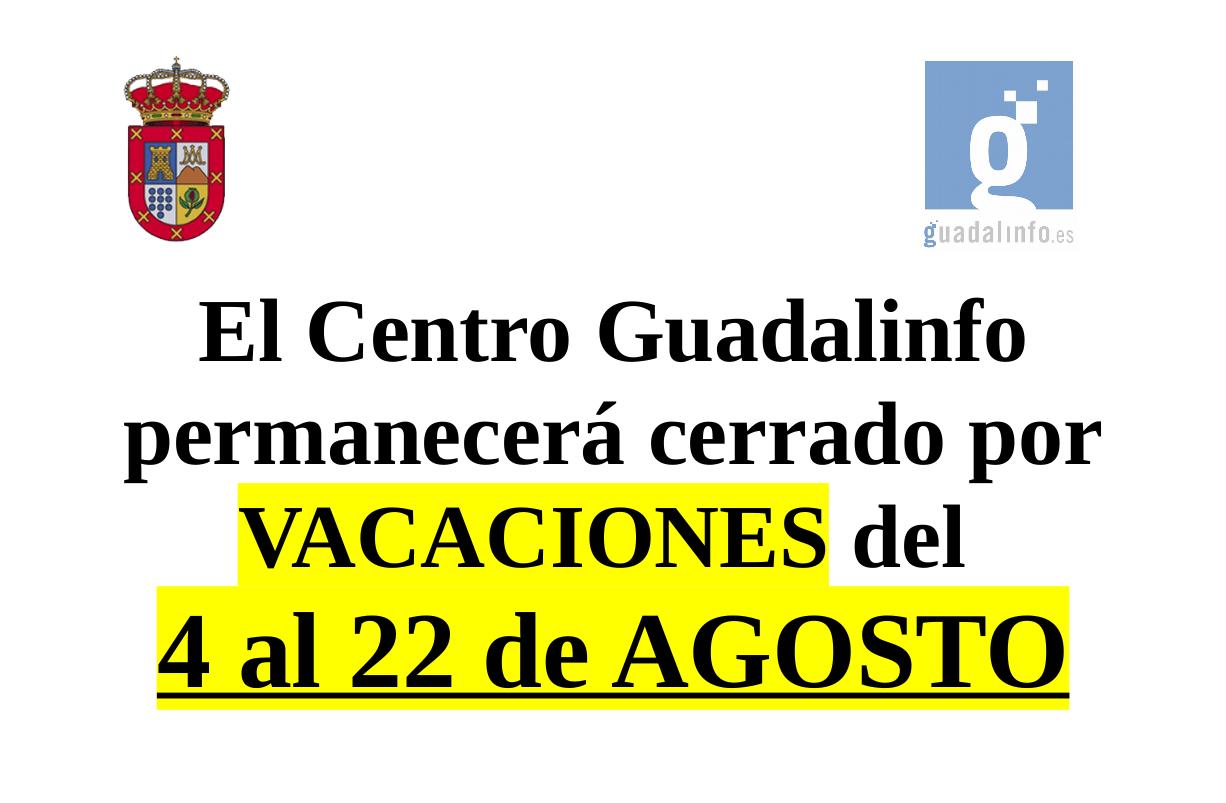 VACACIONES-GUADALINFO