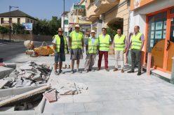 Iniciadas las obras que convertirán el tramo de la N-323 que pasa por el municipio en un gran bulevar